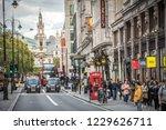 london  october  2018  busy... | Shutterstock . vector #1229626711