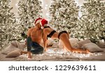 merry christmas and happy new...   Shutterstock . vector #1229639611