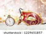 carnival party countdown....   Shutterstock . vector #1229651857