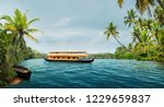 A Traditional House Boat Backwaters - Fine Art prints