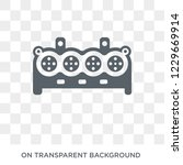 car cylinder icon. car cylinder ... | Shutterstock .eps vector #1229669914