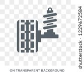 car suspension icon. car...   Shutterstock .eps vector #1229672584