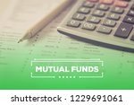 mutual funds concept | Shutterstock . vector #1229691061