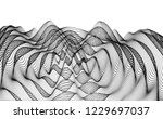 3d wavy background with ripple... | Shutterstock .eps vector #1229697037