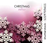 merry christmas  greeting... | Shutterstock .eps vector #1229705611