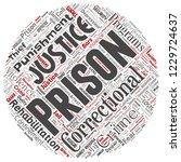 vector conceptual prison ...   Shutterstock .eps vector #1229724637