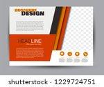 flyer  brochure  billboard... | Shutterstock .eps vector #1229724751