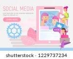 modern flat design concept of... | Shutterstock .eps vector #1229737234
