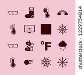 weather icon. weather vector...   Shutterstock .eps vector #1229754814