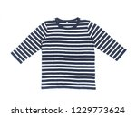 long sleeve shirt for children | Shutterstock . vector #1229773624