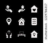 residential icon. residential... | Shutterstock .eps vector #1229786317