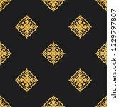 seamless decorative vector... | Shutterstock .eps vector #1229797807