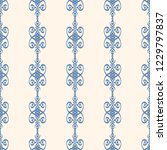 seamless decorative vector... | Shutterstock .eps vector #1229797837