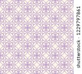 seamless decorative vector... | Shutterstock .eps vector #1229797861