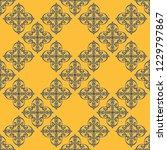seamless decorative vector... | Shutterstock .eps vector #1229797867
