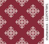 seamless decorative vector... | Shutterstock .eps vector #1229797891