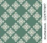 seamless decorative vector... | Shutterstock .eps vector #1229797897