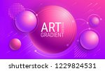 abstract purple background.... | Shutterstock .eps vector #1229824531