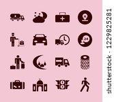 travel icon. travel vector...   Shutterstock .eps vector #1229825281