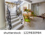 Staircase With Handmade Wrought ...