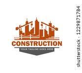 construction logo template ...   Shutterstock .eps vector #1229871784