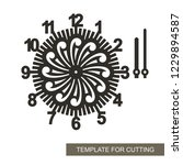 openwork dial with arrows and... | Shutterstock .eps vector #1229894587