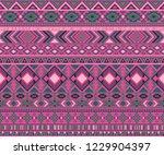 navajo american indian pattern... | Shutterstock .eps vector #1229904397