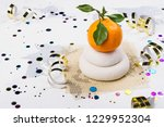 traditional japanese kagami...   Shutterstock . vector #1229952304