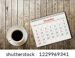 december 25 in the calendar on... | Shutterstock . vector #1229969341