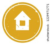 house button icon vector... | Shutterstock .eps vector #1229971771