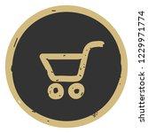 cart shopping icon vector... | Shutterstock .eps vector #1229971774