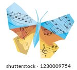 Origami Butterfly With Musical...