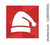 christmas hat   app icon   Shutterstock .eps vector #1230033031
