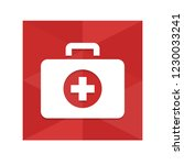 first aid   app icon | Shutterstock .eps vector #1230033241