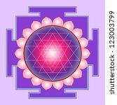 Sri yantra - sacral mandala