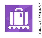 baggage   app icon | Shutterstock .eps vector #1230039727