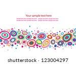 abstract vector background   Shutterstock .eps vector #123004297