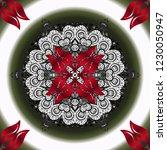 kaleidoscope  medallion  yoga ... | Shutterstock .eps vector #1230050947