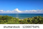 cumulus clouds over the...   Shutterstock . vector #1230075691