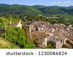 panoramic view from the height... | Shutterstock . vector #1230086824