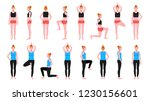 sport people set vector... | Shutterstock .eps vector #1230156601