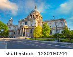 st. paul's cathedral in london | Shutterstock . vector #1230180244