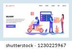 vector web site gradient design ... | Shutterstock .eps vector #1230225967