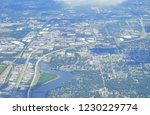 aerial view of tampa bay | Shutterstock . vector #1230229774