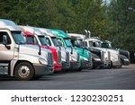 big rigs semi trucks of...   Shutterstock . vector #1230230251