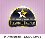 shiny emblem with communism... | Shutterstock .eps vector #1230242911