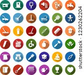 color back flat icon set   baby ... | Shutterstock .eps vector #1230262204