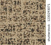 rusty seamless pattern. angular ... | Shutterstock .eps vector #1230293071