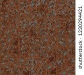 rusty seamless pattern. curve... | Shutterstock .eps vector #1230294421