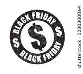 black friday grunge stamp   Shutterstock .eps vector #1230300064